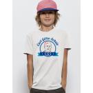 Kindershirt JUNGEN - 100% Biobaumwolle weiß